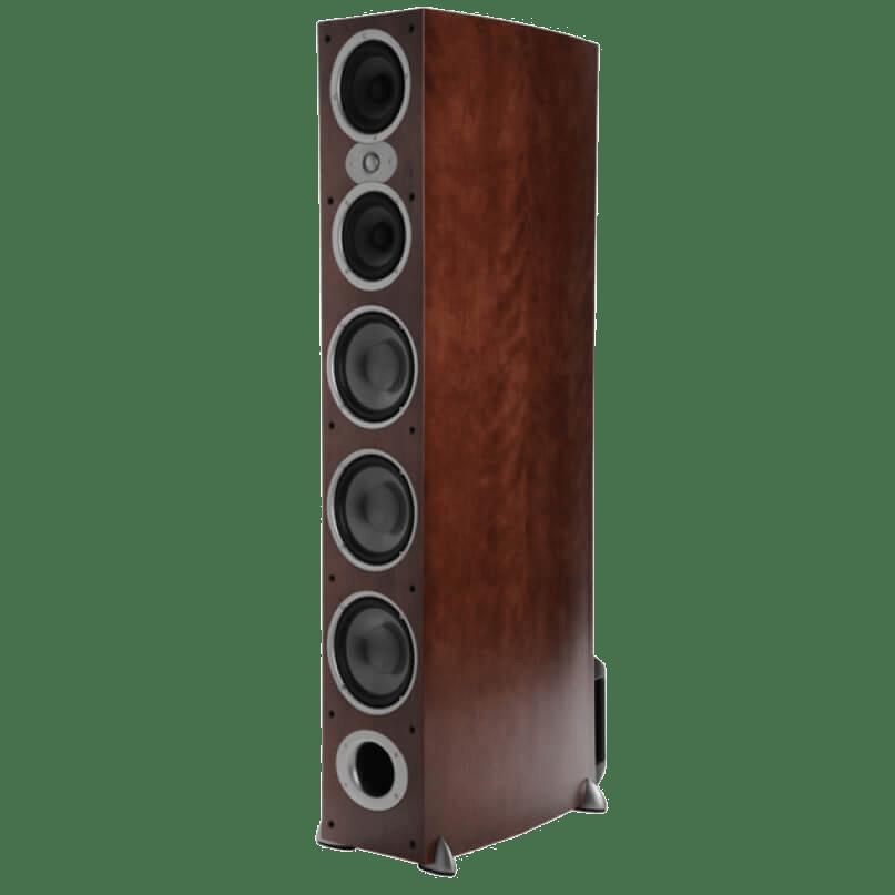 Polk-Audio-RTiA9-Floorstanding-Speakers-Cherry-Angle